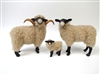 Colin's Creatures Hog Island Sheep, Handmade Sheep Figurines