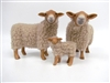 Colin's Creatures Handmade Christmas Sheep, Hill Radnor Family