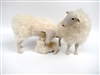 Colin's Creatures Sheep Figurines, Kempen Heath Family Snuggling