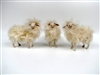 Handmade Italian Christmas Sheep Figurines by Colin's Creatures, Sarda Flock