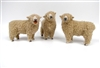 Colin's Creatures Handmade Porcelain Sheep Figures, Southdown Flock