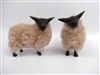 Colin's Creatures, French Bleu de Maine Sheep Figurine for Primitive Sheep Decor
