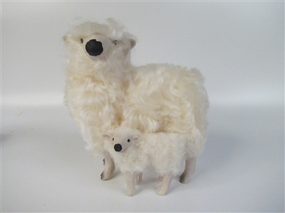 Colin's Creatures porcelain sheep figurines, Dartmoor Lambs
