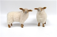 Colin's Creatures Charollais Flock of Life Like Sheep Figurines