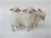 Colin's Creatures Handmade mother's Day sheep Figures, Sarda Ewe Looking Back at Lamb