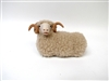 Colin's Creatures Ceramic sheep, Dorset Ram  Lying