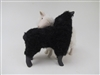 Colin's Creatures Handmade Porcelain Lambs, Galway Black and White Lamb Twins