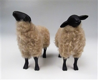 Colin's Creatures Life Like Sheep Figurines,