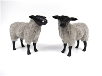 Colin's Creatures Swedish Folk Art Handmade sheep figurines, Gotland Flock
