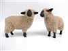 Colin's Creatures Hampshire Flock of Handmade Christmas sheep figurines
