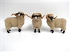 Hog Island Rams, Handmade Porcelain SHeep Figurines from Colin's Creatures