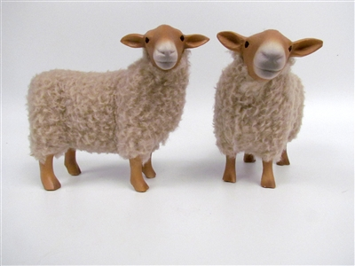 Colin's Creatures Handmade porcelain sheep figurines, Hill Radnor Flock