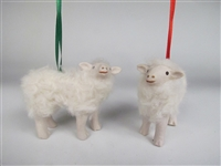 Cotswold Lamb Christmas Ornament