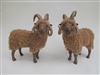 Colin's Creatures Handmade Porcelain Sheep Figurines,