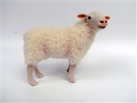 Colin's Creatures Handmade Sheep figures, Norwegian Christmas Sheep, Norsk Kvit Sau Flock
