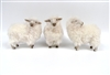 Colin's Creatures Swedish Christmas Sheep Figures, Rya Flock