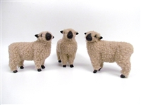 Colin's Creatures Handmade Sheep of Color Figurines, Shropshire Flock