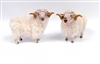 Handmade Porcelain Ram Figures by Colin's Creatures, Welsh Mountain Rams