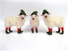 Set of 3 Elf Sheep