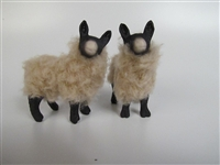 Colin's Creatures Clun Forest Welsh Sheep Figurines