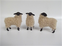 Colin's Creatures Handmade sheep of color figurines, Suffolk Flock