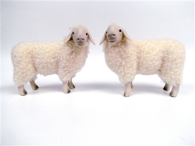 Colin's Creatures Brillenschaf Handmade Sheep Figures