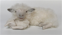 Colin's Creatures Life Like Sheep Figurines, Cotswold Lying Ewe Snuggling Newborn