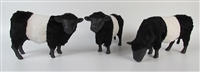 Colin's Creatures Handmade Belted Galloway Figurine
