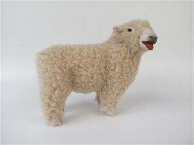 Colin's Creatures Handmade Baby Doll Sheep Figurines, Southdown Lying