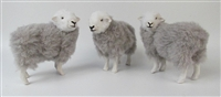 Colin's Creatures Life Like Sheep Figurines, Herdwick Rams