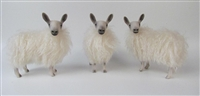 Colin's Creatures Handmade Sheep figures for Christmas, Bluefaced Leicester  Flock