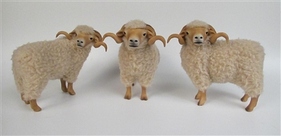 Colin's Creatures Life Like Sheep Figurines, Portland Rams