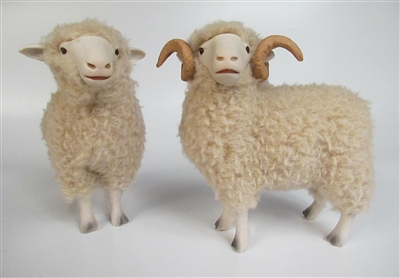 Colin's Creatures Handmade  sheep figures, Dorset Family