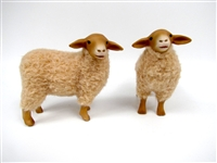 Colin's Creatures German Coburger Fuchsschaf Handmade Sheep Figurines