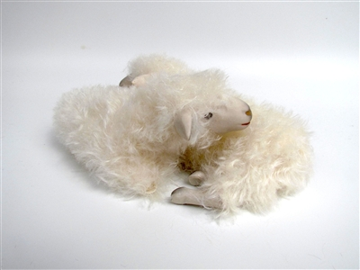 Colin's Creatures Sheep figurines, Cotswold Twins with Extended Legs