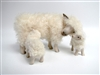 Colin's Creatures Sheep Figurines, Cotswold Ewe with Twins