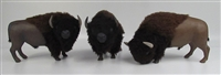 American Bison Herd (set of three)