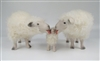 Colin's Creatures Handmade Porcelain Sheep Figures, Cotswold Family Spring Cleaning Lamb