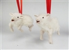 Leaping Galway Lamb Ornament