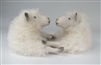 Colin's Creatures Sheep Figurines, Cotswold Ewe Best Friends