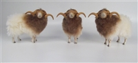 Colin's Creatures Sheep Figures, Drenthe Heath Rams