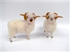 Colin's Creatures Primitive Sheep Decor, New Zealand  Drysdale Rams