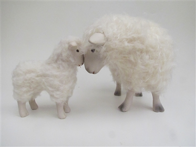 Colin's Creatures Sheep Figurines, Cotswold Deep in Thought