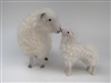 Colin's Creatures Sheep Pottery, Cotswold Kissing Large Lamb