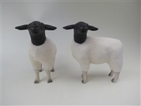 Colin's Creatures Handmade Porcelain Sheep figures, Dorper