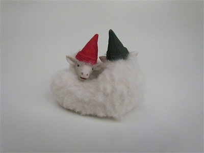 Intertwined Elf Lambs