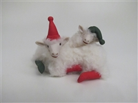 SPECIAL Spooning Elf Lamb Pillow