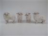 Colin's Creatures Porcelain Sheep Figures, Icelandic Lambs