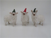 Colin's Creatures Handmade Porcelain Lambs of Color, Oxford Small Lambs