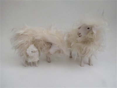 Colin's Creatures Handmade mother's Day sheep Figures, Sarda Family